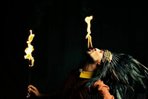Apprendre le Fire eating