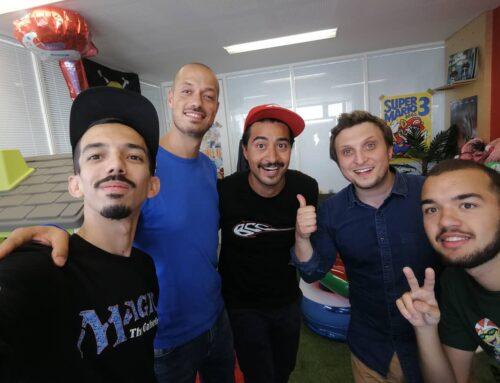 Bigflo & Oli invitent un cracheur de feu pour McFly et Carlito